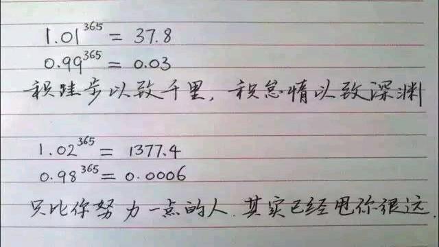 曼妙数学,贵在坚持