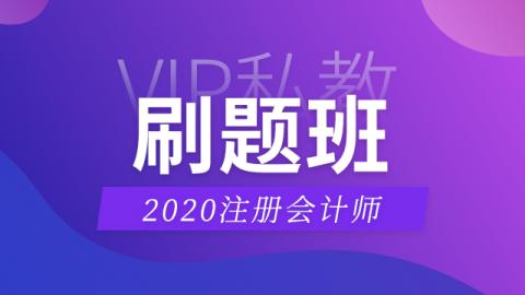 2020CPA名师直播刷题班——审计