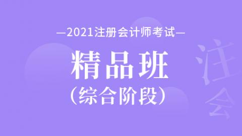 2021年注册会计师【综合阶段】精品班
