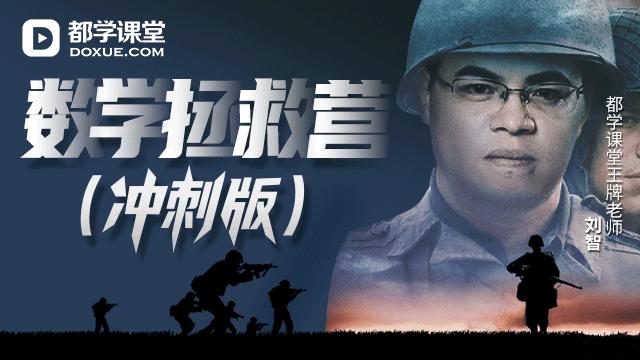 刘智数学拯救营(6大专题)冲刺版